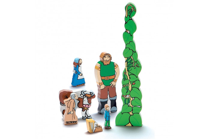 Jack and the Beanstalk Wooden Figure Set