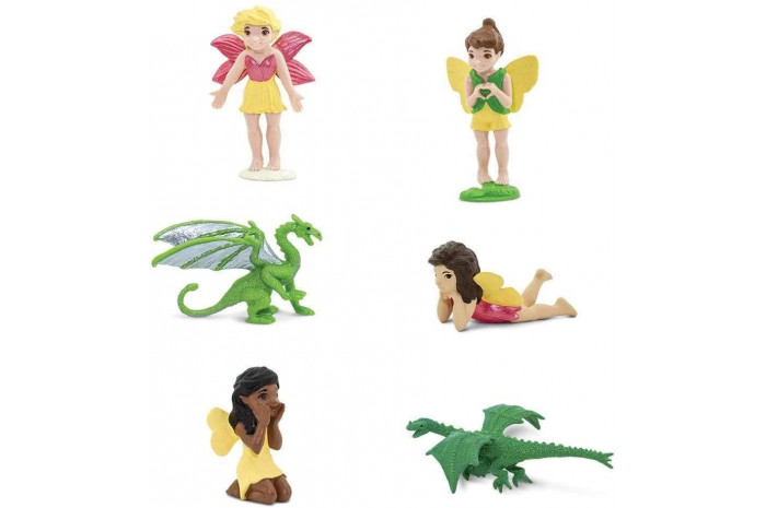 Dragons and Fairies Toob (6 Piece Set)