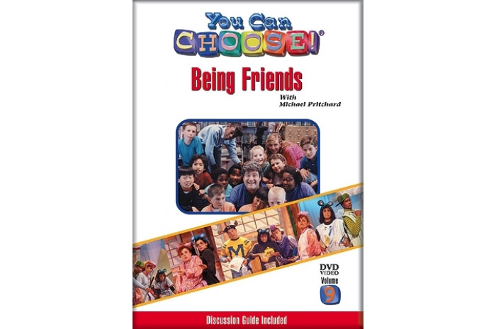 You Can Choose! Being Friends DVD