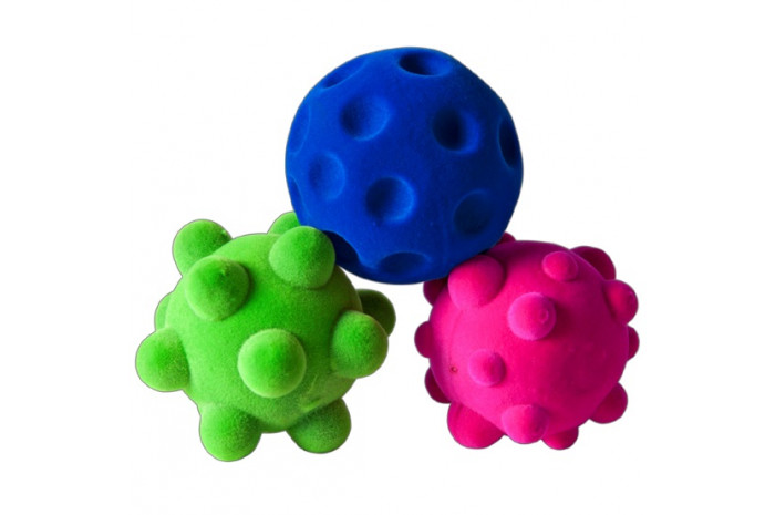 Textured Stress Balls (Set of 3)