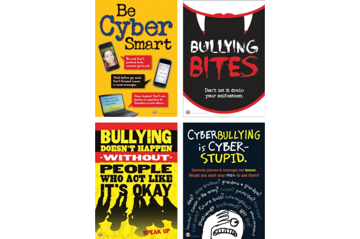 Bully Free Classroom Middle School Poster Set
