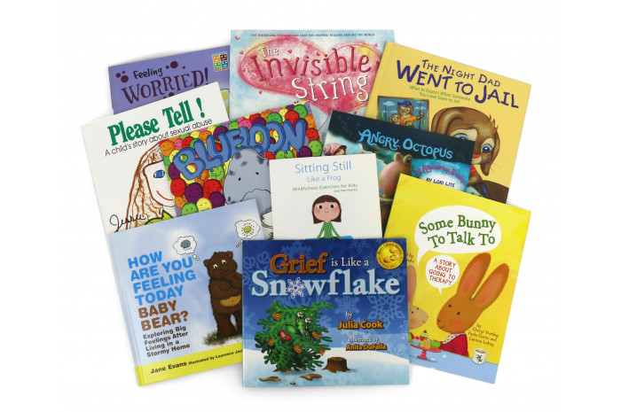 Premium Children's Counseling Book Package