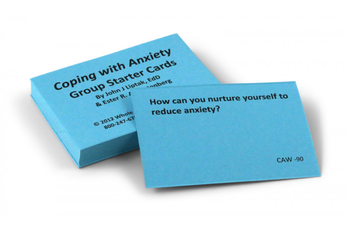 Coping with Anxiety Card Deck