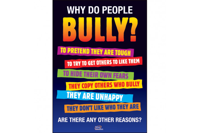 Bullying Poster Set