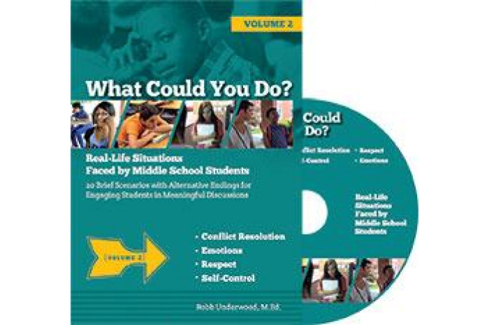 What Could You Do? DVD: Real Life Situations Faced by Middle School Students Volume 2