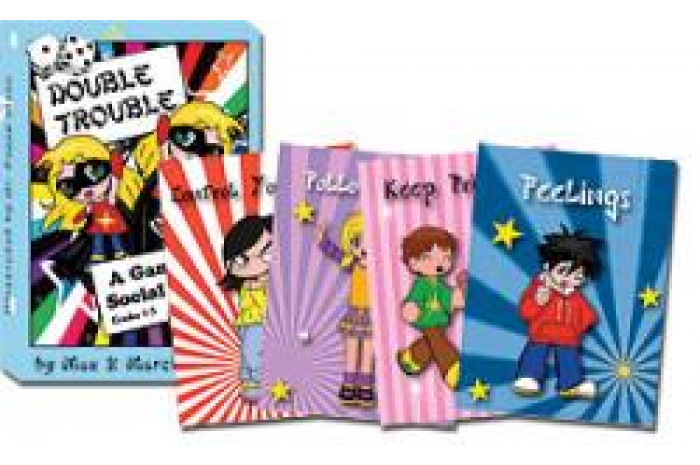 Double Trouble: Social Skills Card Game