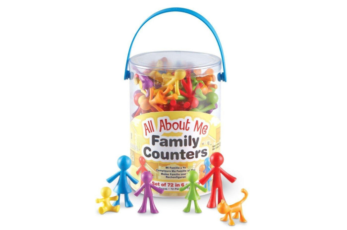 Colorful Family People Tub