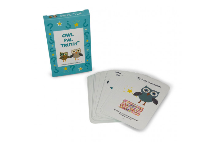 Owl Pal Truth: Therapeutic Card Game for Abused Children