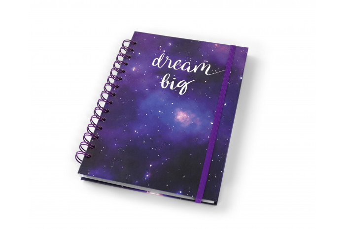 Hardcover Journal: Dream Big