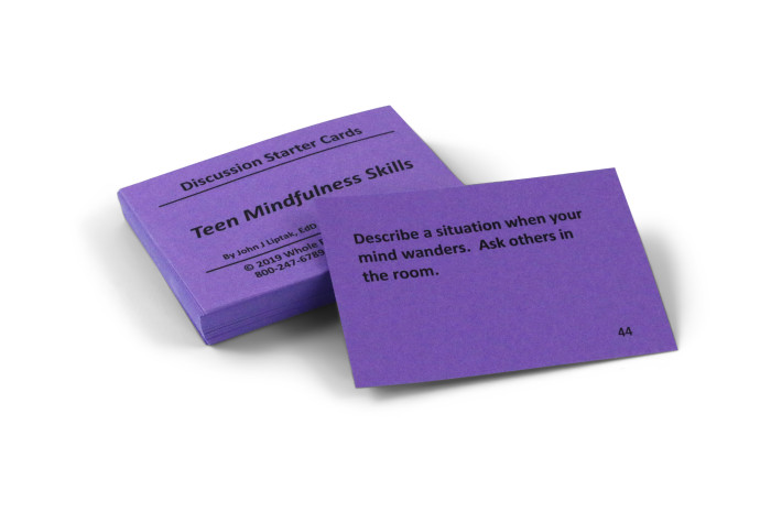 Teen Mindfulness Skills Card Deck