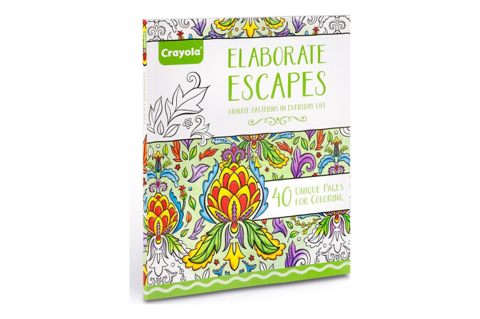 Elaborate Escapes Adult Coloring Book