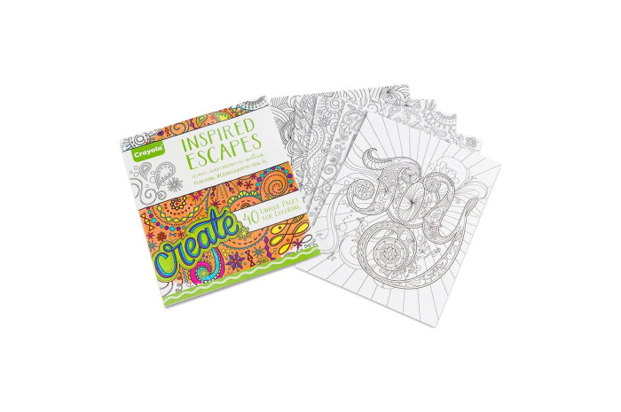 Inspired Escapes Coloring Book