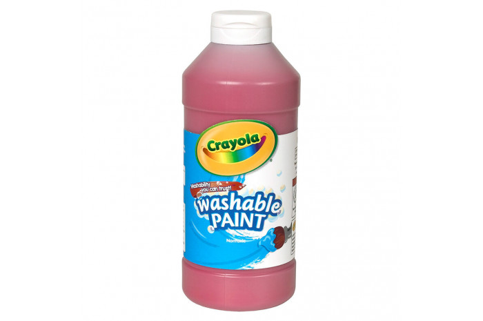 Washable Paint 16-oz - Red