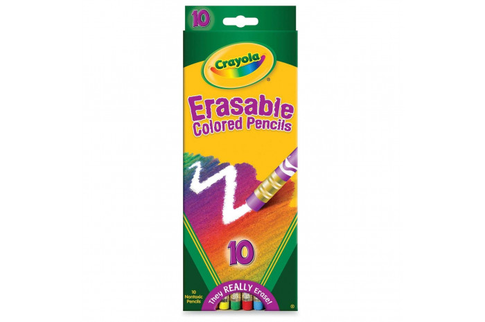 Crayola Erasable Colored Pencils - set of 10