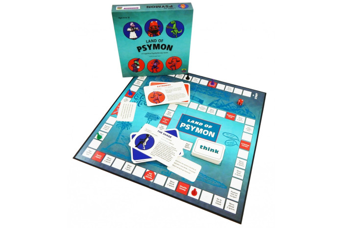 Land of Psymon: A Cognitive Psychotherapy Game