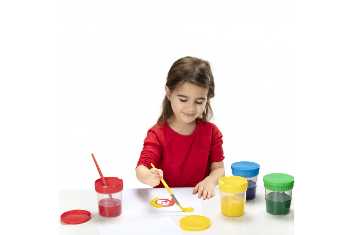 Spill-proof Paint Cups (set of 4)