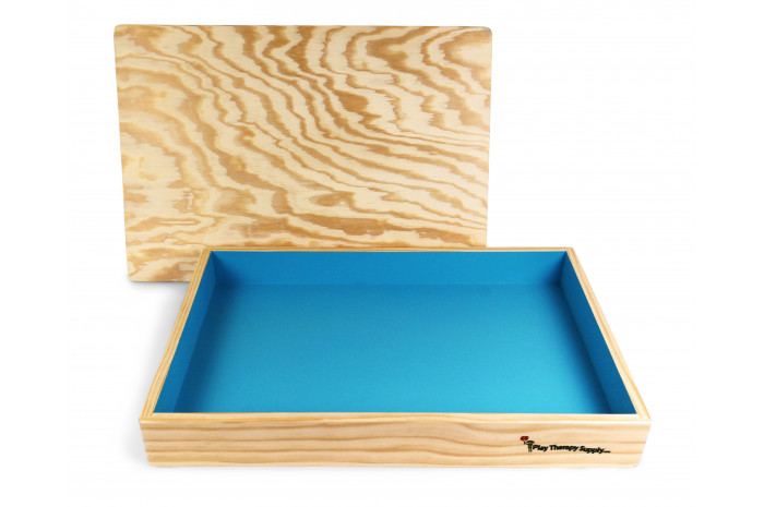 Basic Wooden Sand Tray with Lid