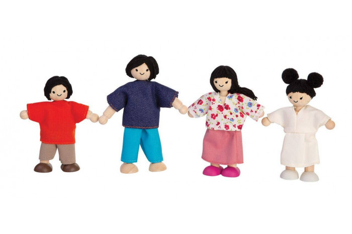 Doll Family - 4 Piece - Asian