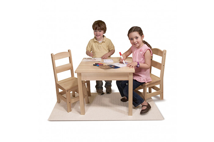 Wooden Table & Chairs Set