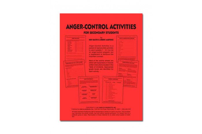 Anger Control Activities for Teens