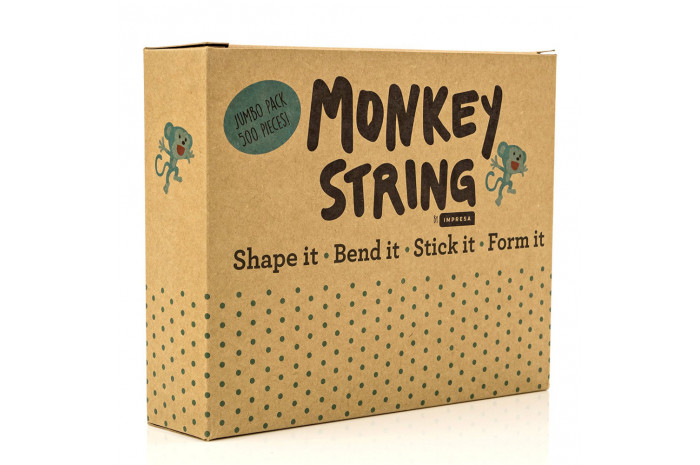 Monkey String: 500 piece Wax Yarn