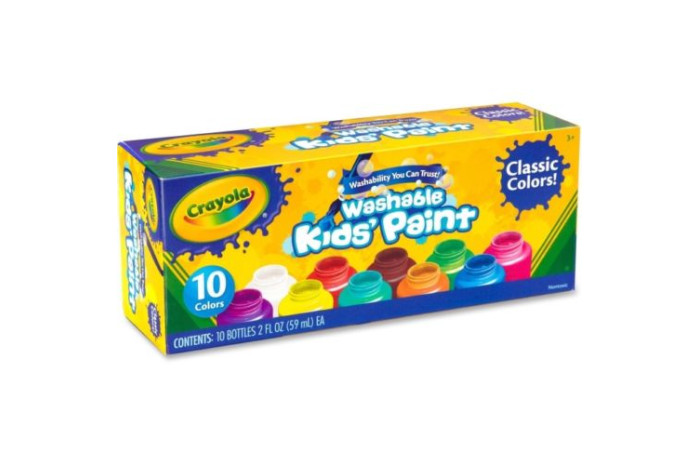 Washable Kids' Paint - 2 oz - set of 10