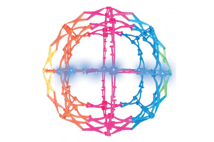 Lighted Mini Hoberman Sphere Starbright