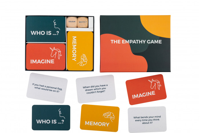The Empathy Game: Start Conversations with a Throw of the Dice