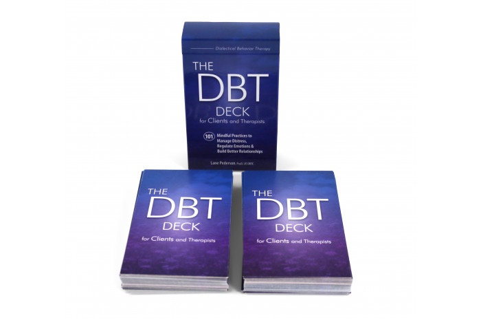 The DBT Deck for Clients and Therapists: 101 Mindful Practices