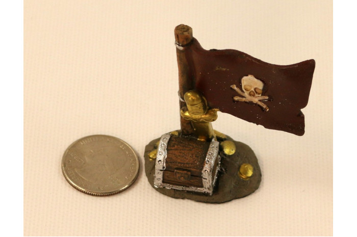 Jolly Roger with Treasure Chest