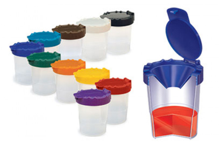 No Spill Paint Cups (set of 10)