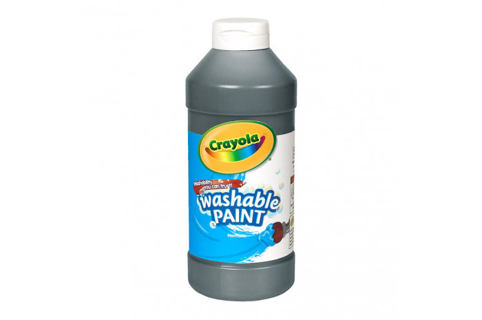 Washable Paint 16-oz - Black