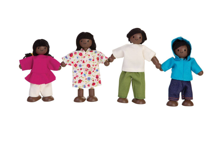 Doll Family - 4 Piece - African American