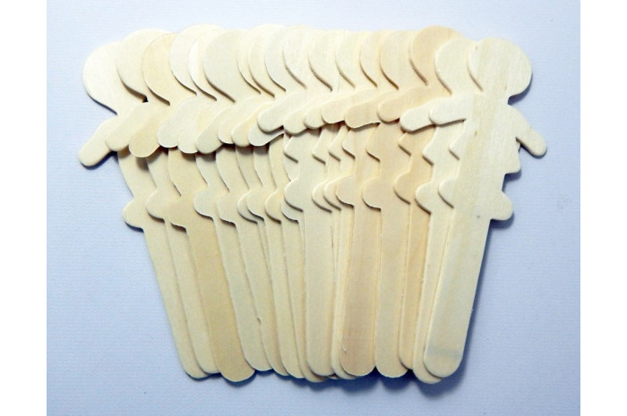 People Topper Craft Sticks (18 Piece)