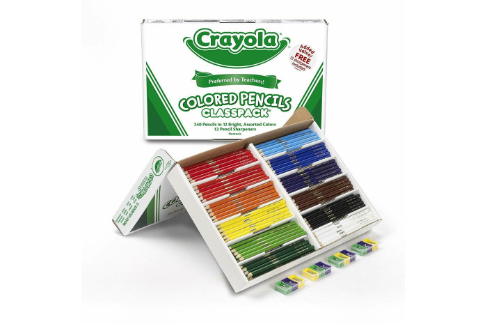 Crayola Colored Pencils Bulk Classpack