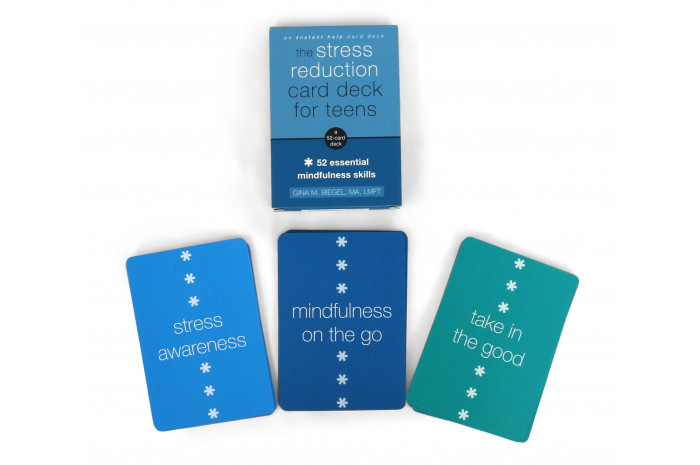 The Stress Reduction Card Deck for Teens