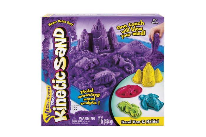 Kinetic Sand Box and Molds
