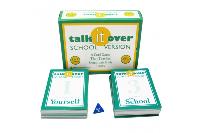 Talk It Over Card Game: School Version