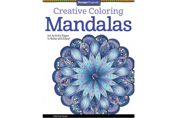 Creative Coloring Mandalas: Art Activity Pages to Relax and Enjoy