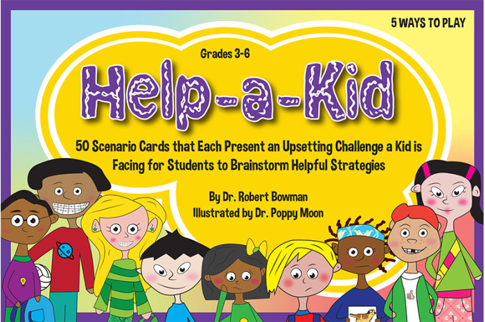 Help-a-Kid Cards: Brainstorm Helpful Strategies to Overcome Upsetting Problems