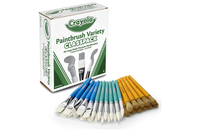 Paint Brush Variety Set - 36 count