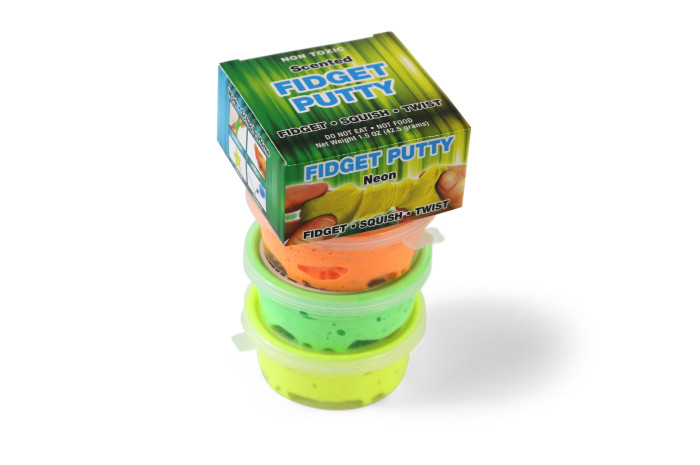 Scented Neon Fidget Putty