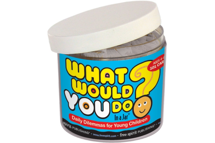 What Would You Do in a Jar Card Game