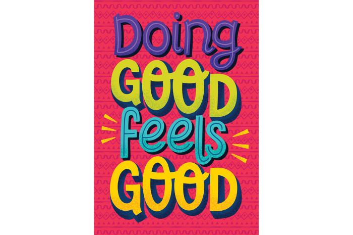 Doing Good Feels Good Poster