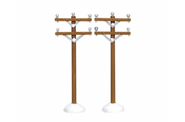 Telephone Poles (set of two)
