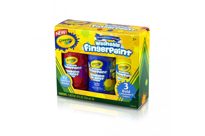 Crayola Finger Paints (3 Colors)