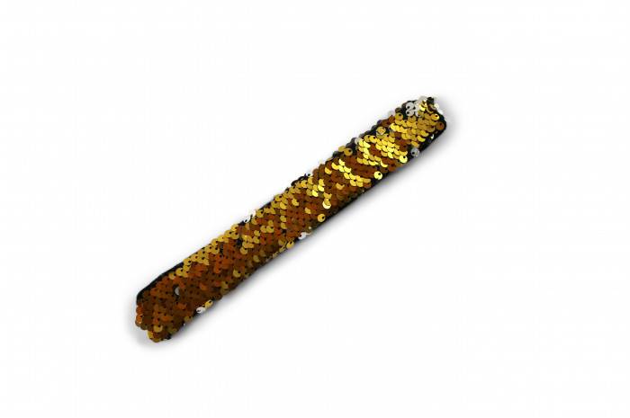 Flip Sequin Slap Bracelet