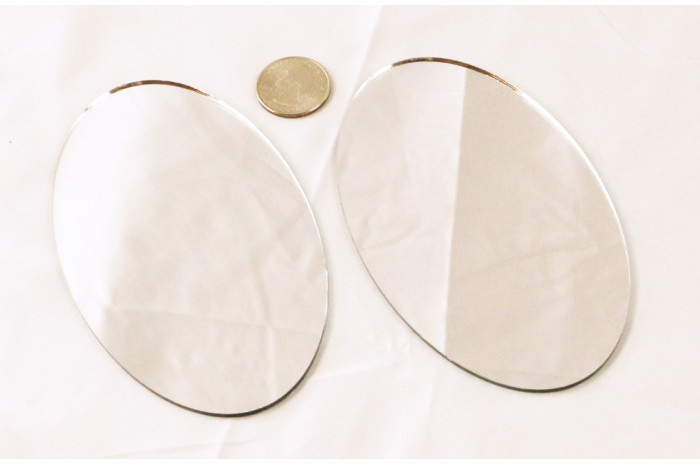 Oval Mirrors (Set of 2)