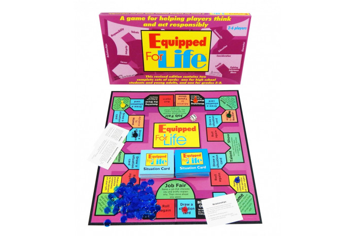 Equipped for Life: A Game for Helping Adolescents Think and Act Responsibly