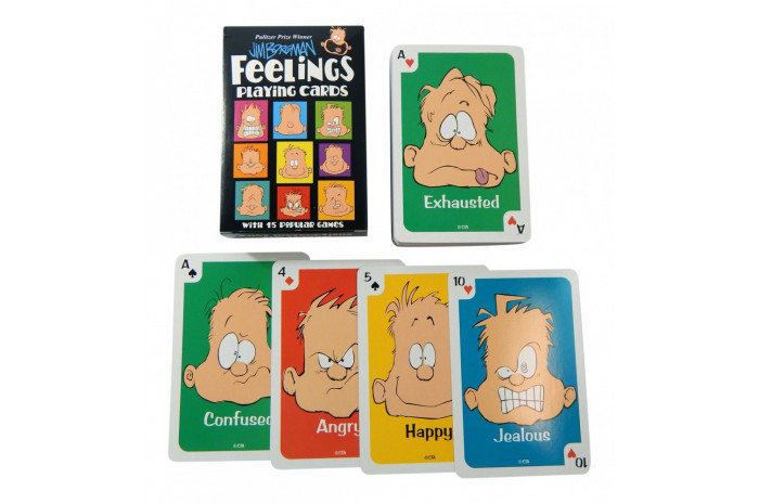 Feelings Playing Cards